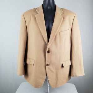 Michael Michael Kors Camel Hair Blazer Suit Jacket